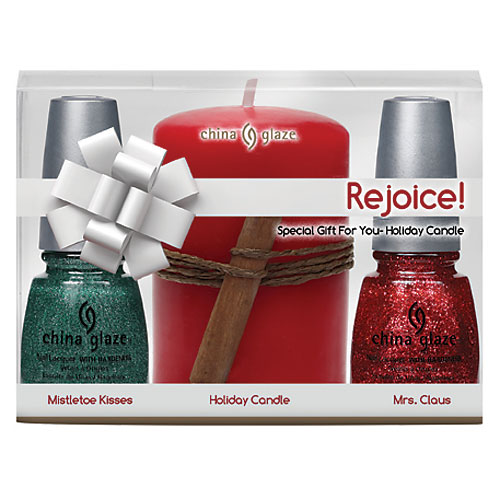 China Glaze Rejoice! Set Nail Lacquer with Hardeners
