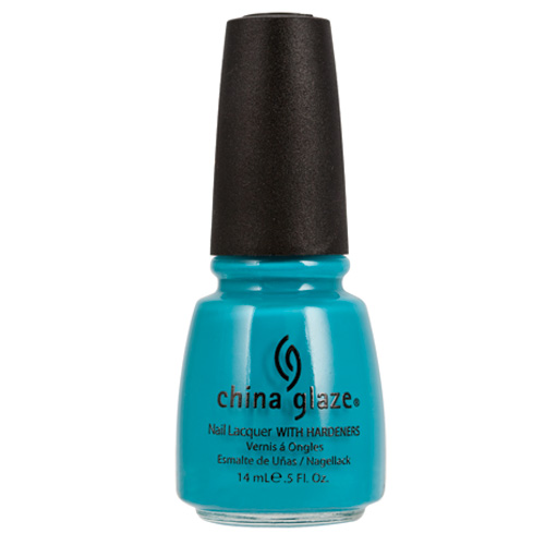 China Glaze Flyin' High Nail Lacquer with Hardeners