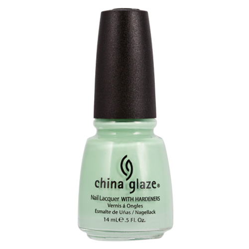 China Glaze Re-Fresh Mint Nail Lacquer with Hardeners