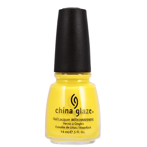 China Glaze Happy Go Lucky Nail Lacquer with Hardeners