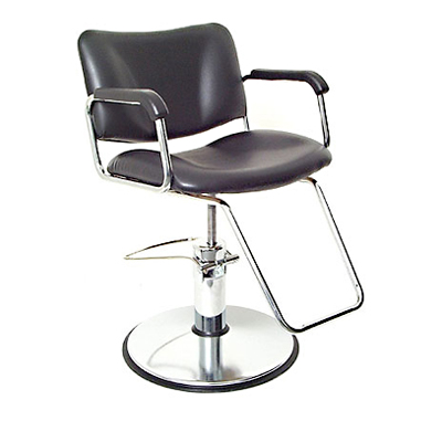 Global Deluxe B8780 Hydraulic Styling Chair