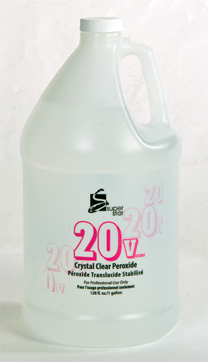 Marianna Super Star 20 Vol Clear Stabilized Peroxide - Gallon