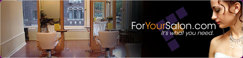 ForYourSalon.com - Professional Beauty Supplies, Salon Equipment and Salon Furniture. Salon supplies and equipment for beauty professionals. It's what you need.