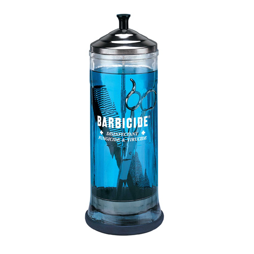 King Research Barbicide Disinfecting Jar, Large 37 oz