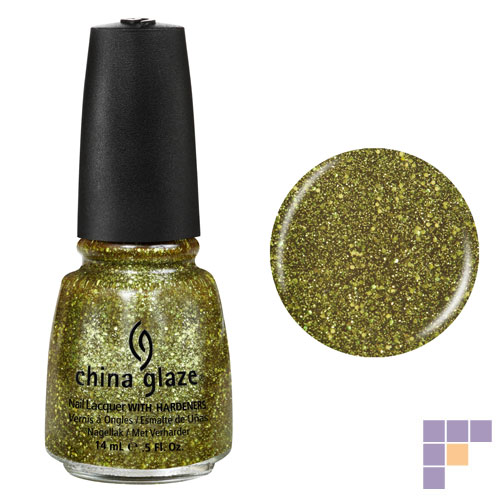 China Glaze It's Alive Nail Lacquer with Hardeners
