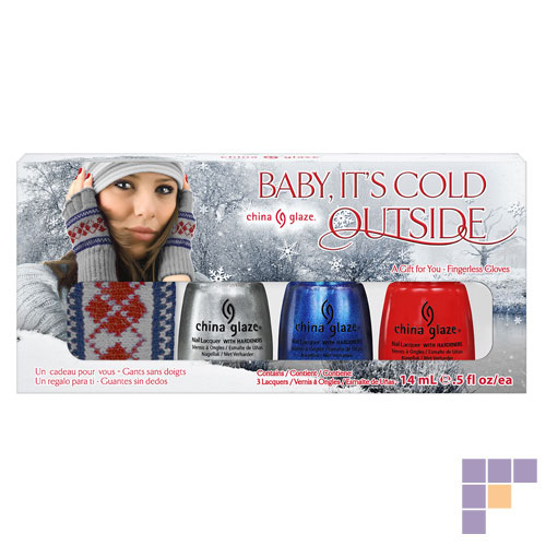 China Glaze Baby It's Cold Outside Nail Lacquer Gift Set