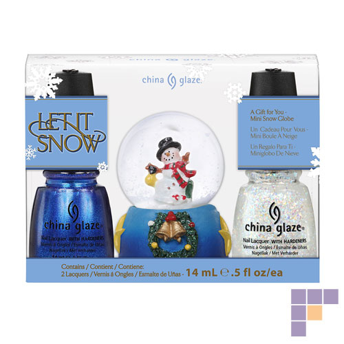 China Glaze Let it Snow Nail Lacquer Gift Set