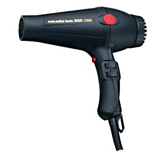 Turbo Power 322A Twin Turbo 3000 Ionic Professional Hair Dryer