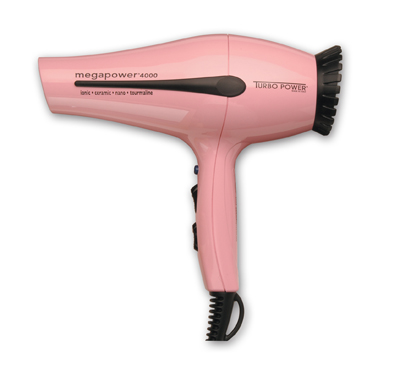 Turbo Power 326A Mega Power 4000 Professional Hair Dryer