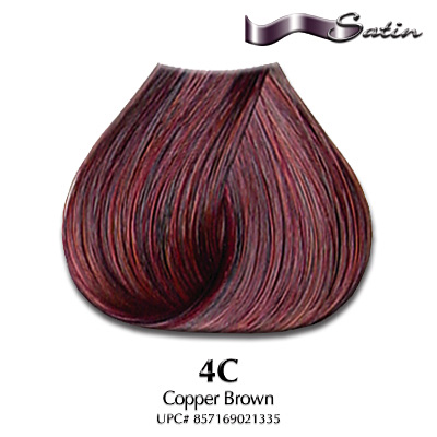satin hair color 4c copper brown hair coloring satin