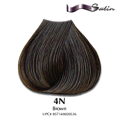 Satin Hair Color Mocha Satin Hair Color 4n Brown