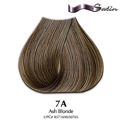 Satin Hair Color #7A Ash Blonde | Hair Coloring | Satin Hair Color ...