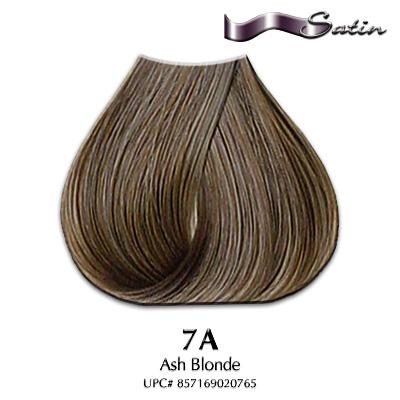 Satin Hair Color #7A Ash Blonde   Hair Coloring   Satin Hair Color ...