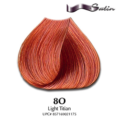 Satin Hair Color #8O Light Titian