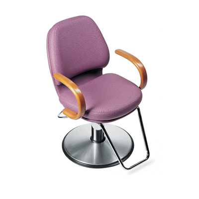 Global Alexandra Wood B1310 Hydraulic Styling Chair
