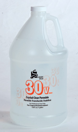 Marianna Super Star 30 Vol Clear Stabilized Peroxide - Gallon