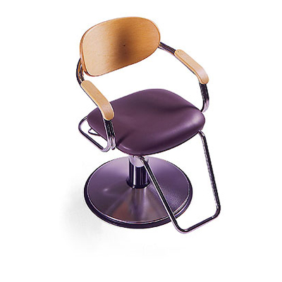 Global Mia Wood B1570 Hydraulic Styling Chair