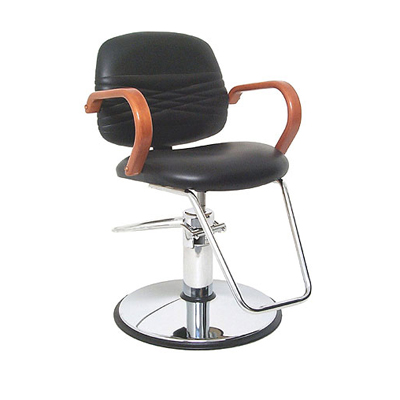 Global Simone Wood B1160 Hydraulic Styling Chair