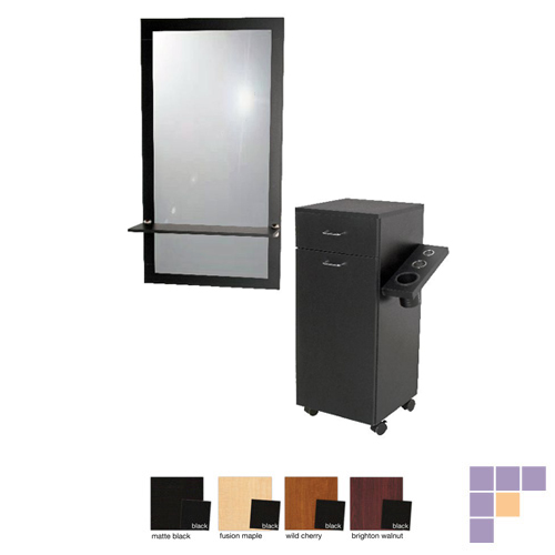 portable hair styling station jeffco j06 java portable styling station salon furniture 3517
