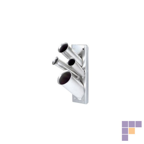 Pibbs 1550 Silver Mini Accessory Holder-Wall