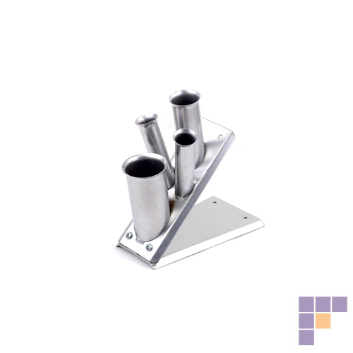 Pibbs 1551 Silver Mini Accessory Holder-Table