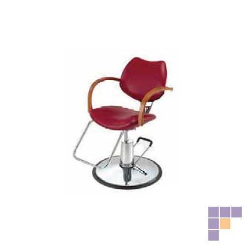 Pibbs 6606 Diva Styling Chair with Star Base