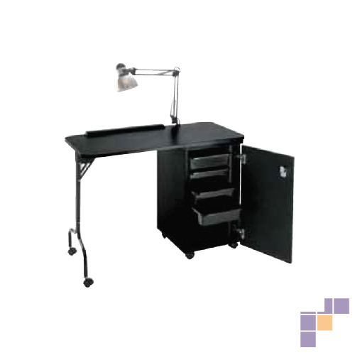 Pibbs NC1005N Nail Center with Locking Cabinet