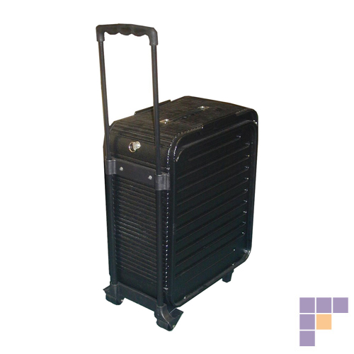 SalonTuff CC-M Capri Mobile Carry Case with Wheels & Handle