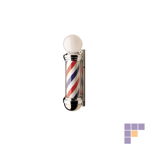 William Marvy Height 41 Inch No 88 Two Light Barber Pole